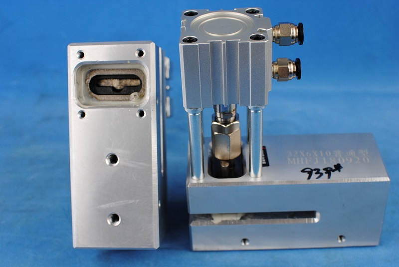 Pneumatic card butterfly hole type